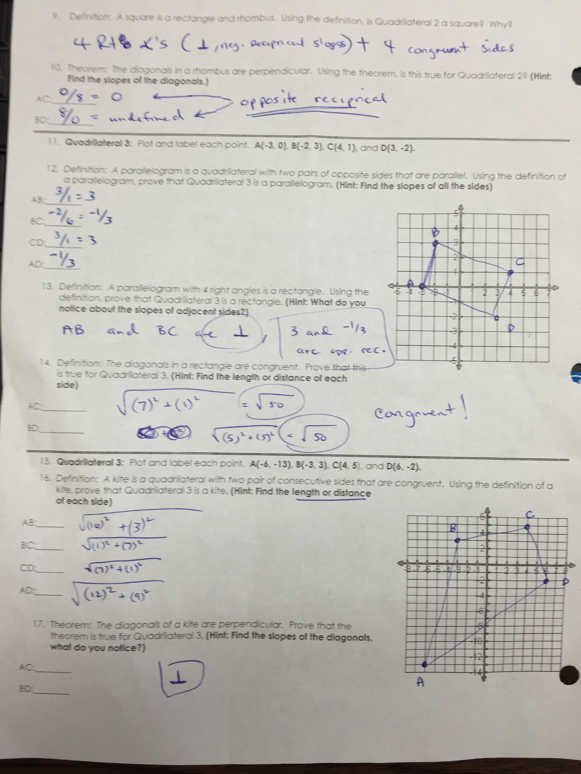 Gina Wilson All Things Algebra Unit 7 Answer Key + My PDF ...